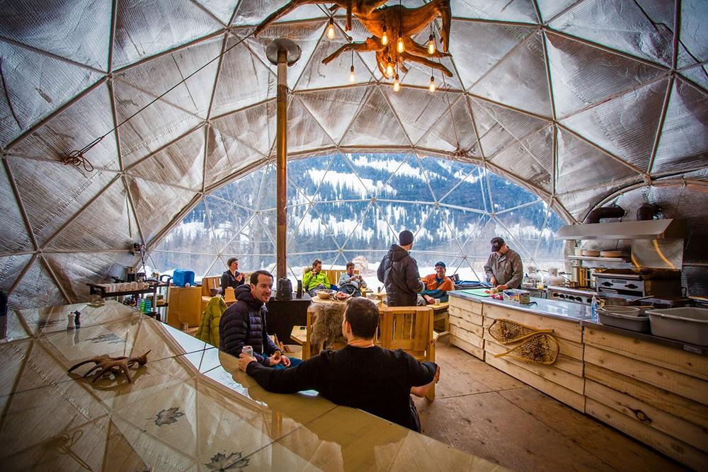 透明 ドーム型テント