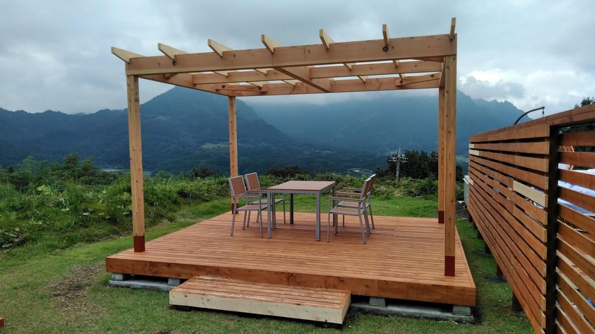 おしゃれグランピング家具!妙義グリーンホテル&テラス様への納品 (ゴルフ場や遊休地活用に最適)