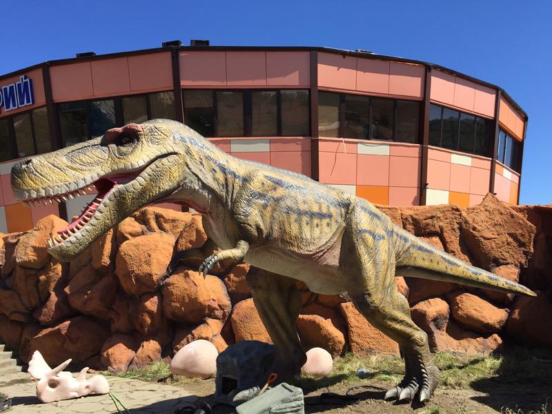 【動く・叫ぶ】アルバートサウルス