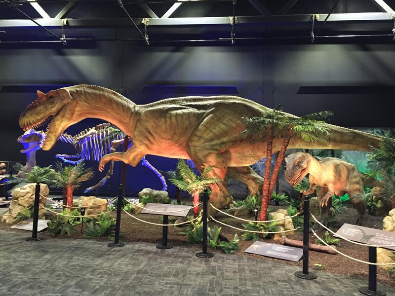 【動く・叫ぶ】アロサウルス