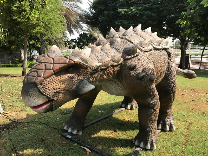 【動く・叫ぶ】アンキロサウルス