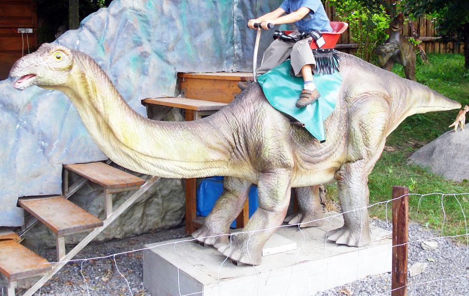【乗る】アパトサウルス
