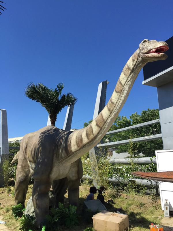 【動く・叫ぶ】アパトサウルス