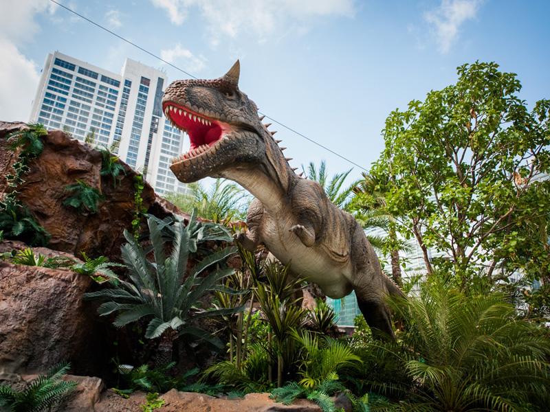 【動く・叫ぶ】カルノタウルス