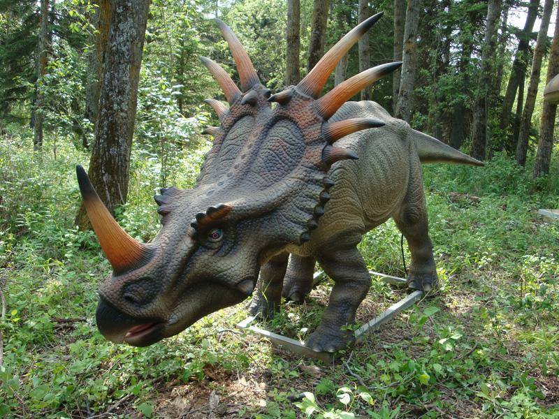 【動く・叫ぶ】スティラコサウルス