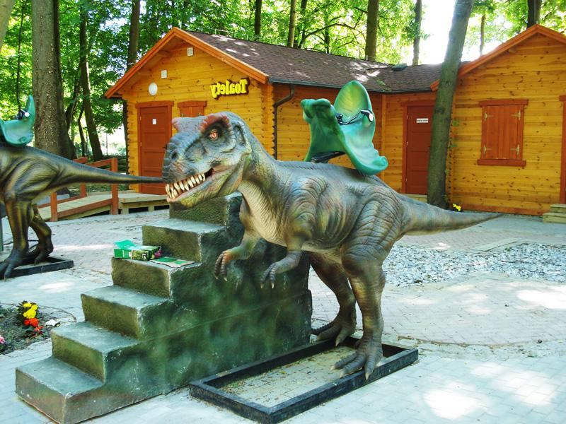 【乗る】ディロフォサウルス