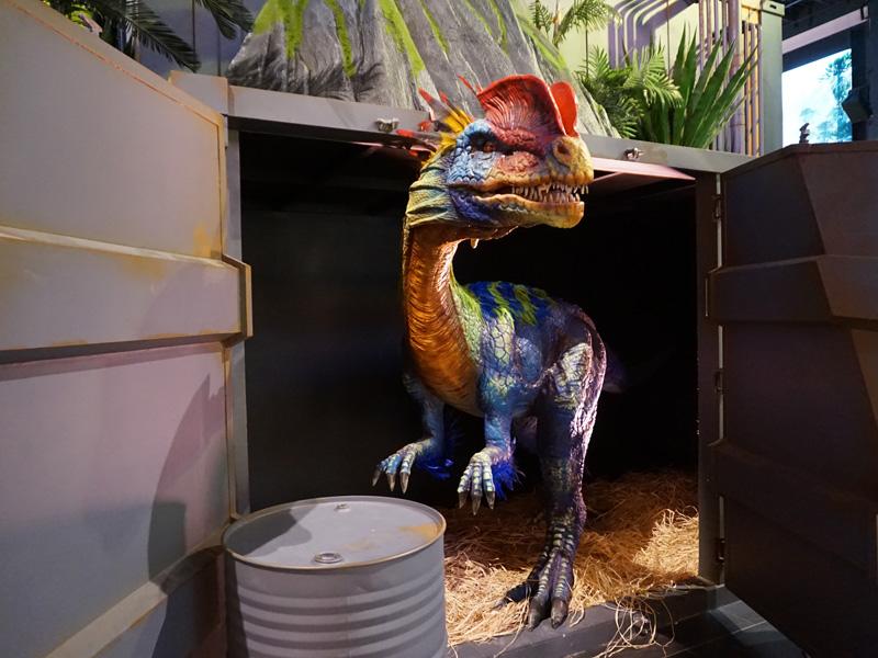【動く・叫ぶ】ディロフォサウルス