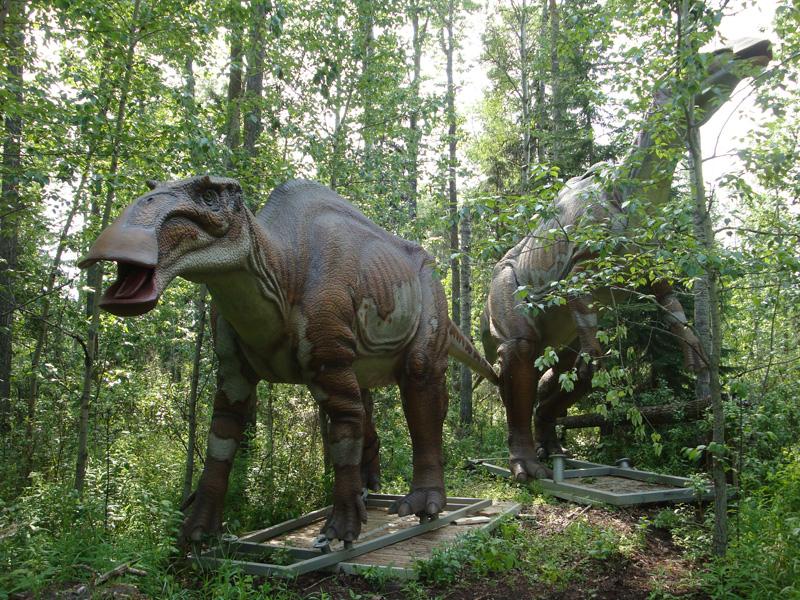 【動く・叫ぶ】エドモントサウルス