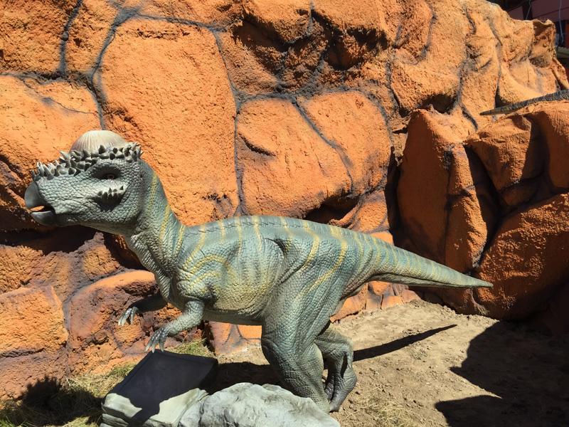 【動く・叫ぶ】パキケファロサウルス