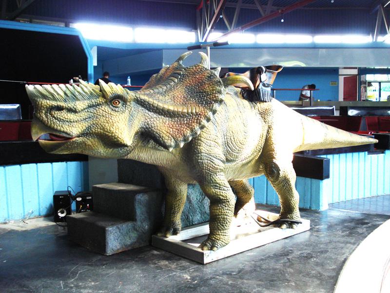 【乗る】パキケファロサウルス