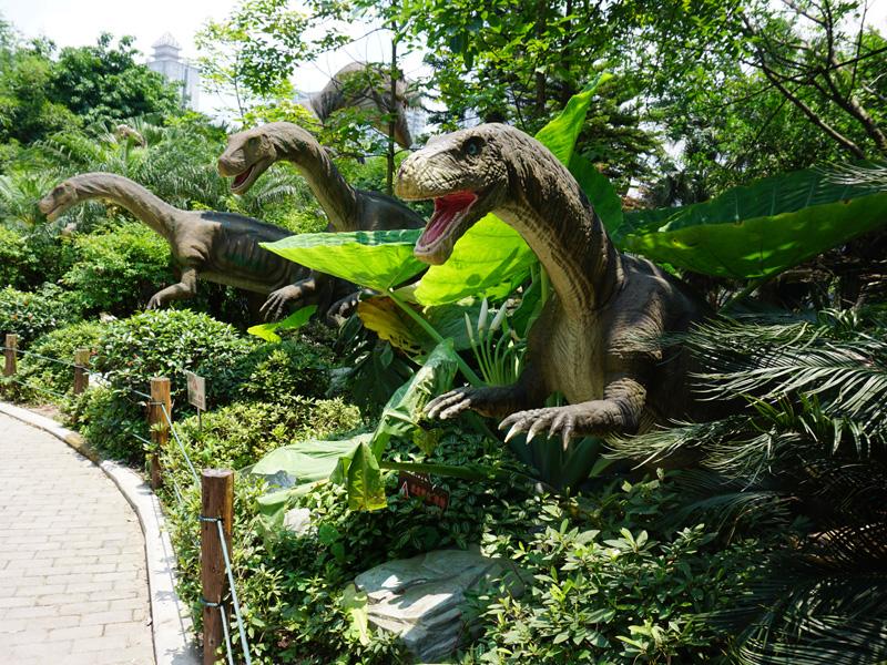 【動く・叫ぶ】プラテオサウルス