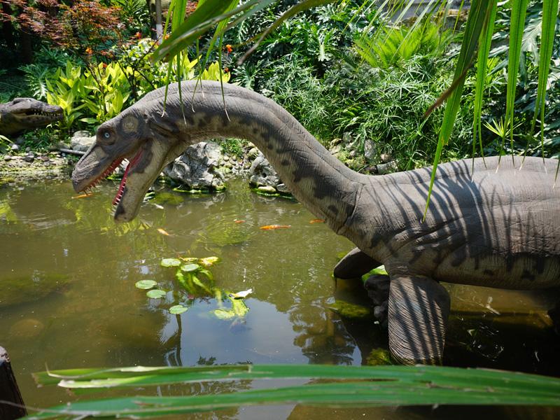 【動く・叫ぶ】プリオサウルス