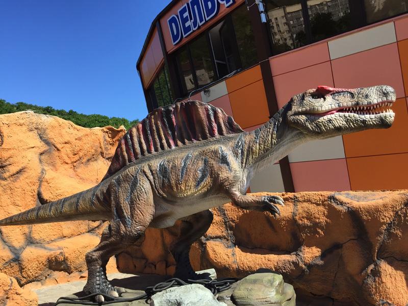 【動く・叫ぶ】スピノサウルス