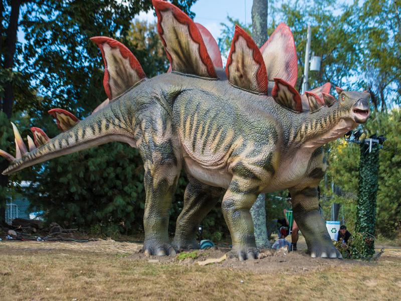 【動く・叫ぶ】ステゴサウルス
