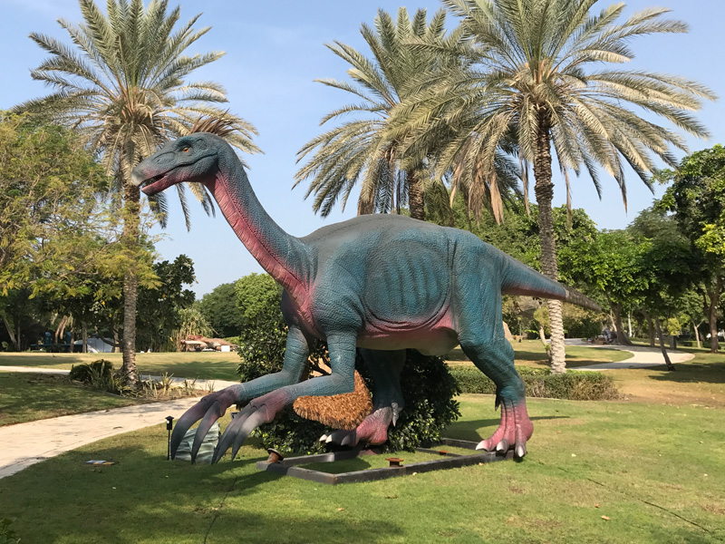 【動く・叫ぶ】テリジノサウルス