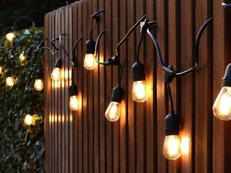 LED裸電球15連タイプ照明(グランピング用 スズラン灯)001
