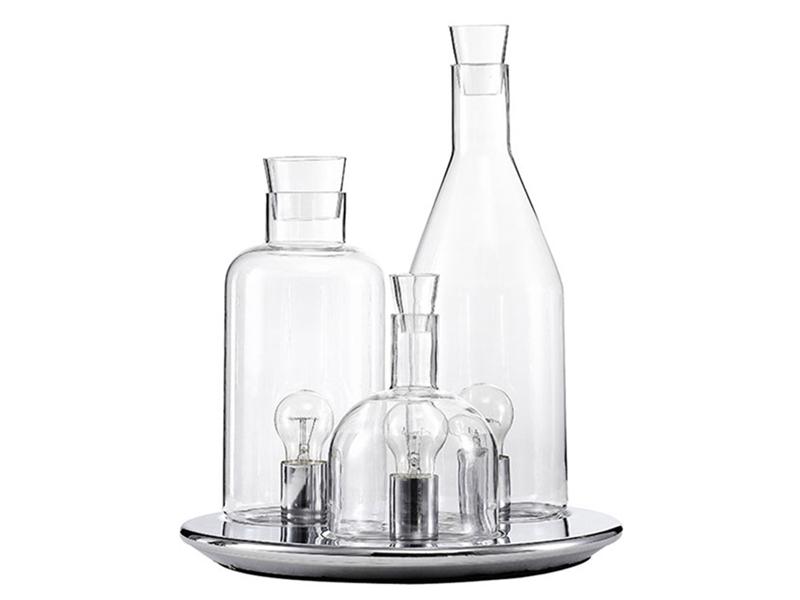 モダンガラス クリスタルテーブルランプ