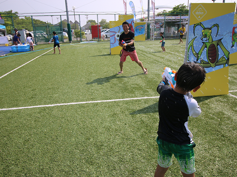 ミズノスポーツプラザ舞洲様【大阪】_ウォーターサバイバルゲーム