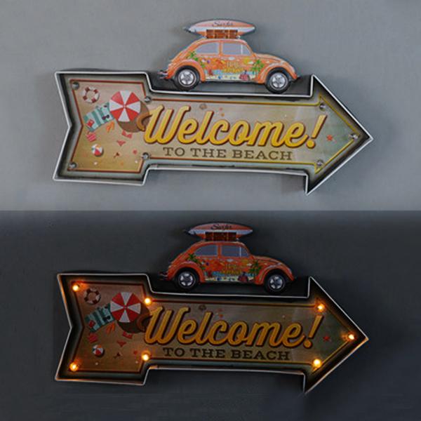 壁装飾「Welcome!」