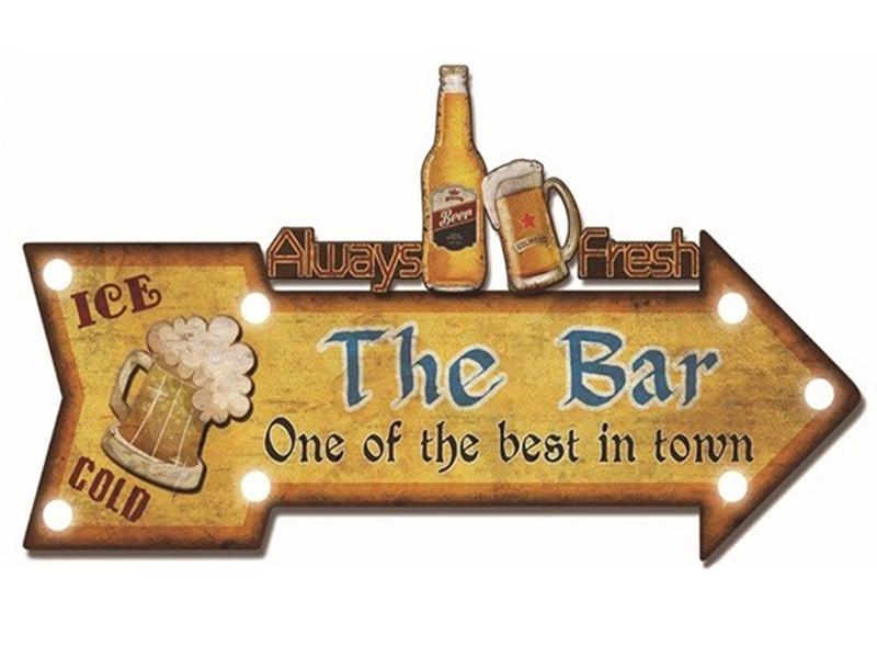壁装飾「The-Bar」_Y