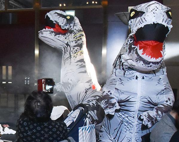 EO Osaka様クリスマス会【大阪】_恐竜パークプロデュース