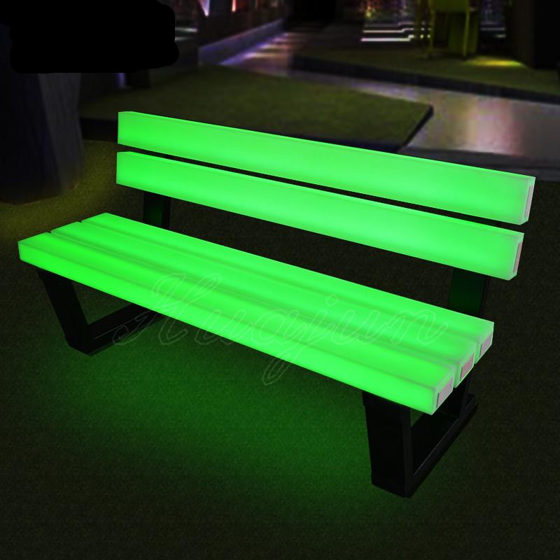 LEDガーデンベンチ