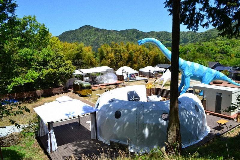 毎日新聞社/京丹後で豪華キャンプを 6月オープン、サウナなど設置 /京都